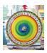 Marknadsaktivitet Chokladhjul Lyckohjul i miniatyr